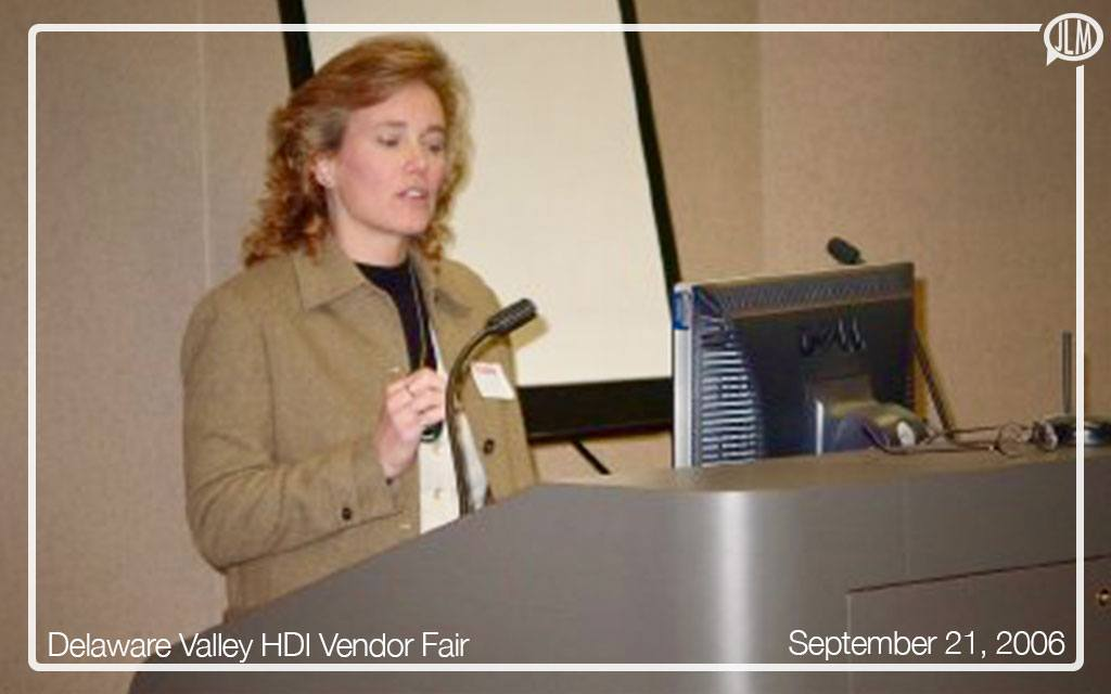 Delaware Valley HDI Chapter Vendor Fair – Keynote Speaker