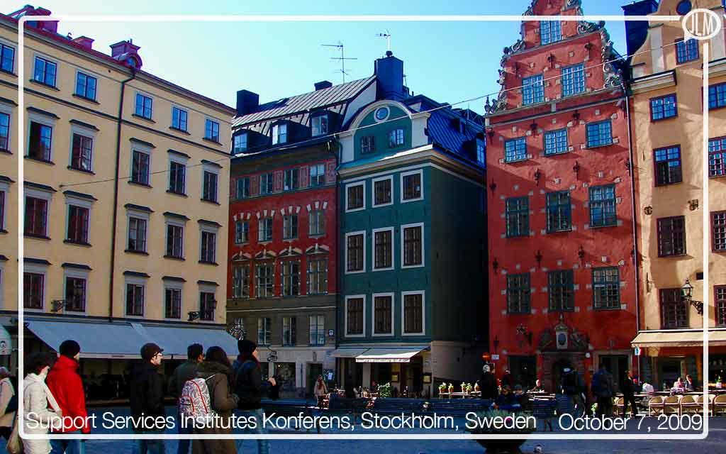 Support Services Institutes Konferens 2009, Stockholm, Sweden