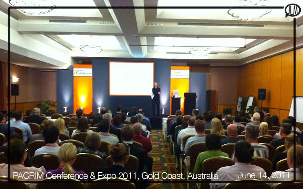 PACRIM Conference & Expo 2011, Gold Coast, Australia