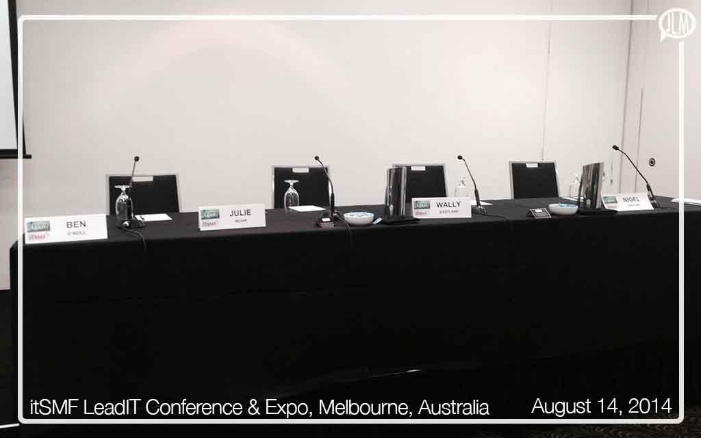 itSMF LeadIT Annual Conference & Expo, Melbourne, Australia