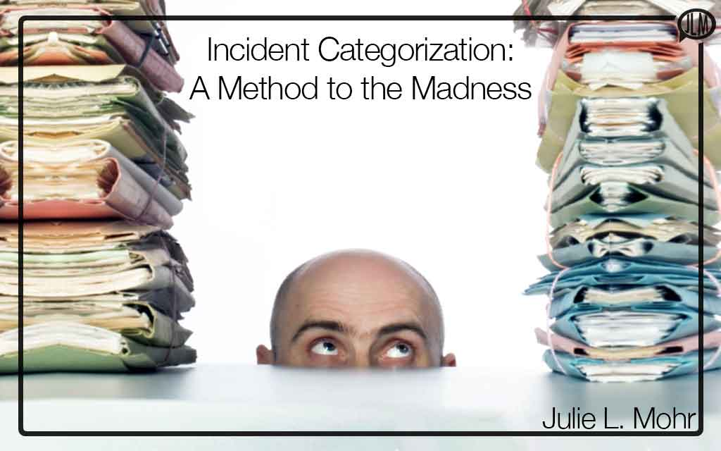 Incident Categorization: A Method to the Madness