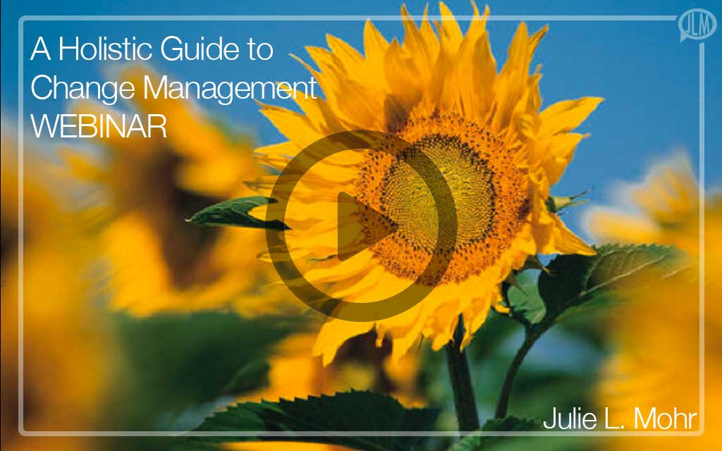 A Holistic Approach to Change Management WEBINAR