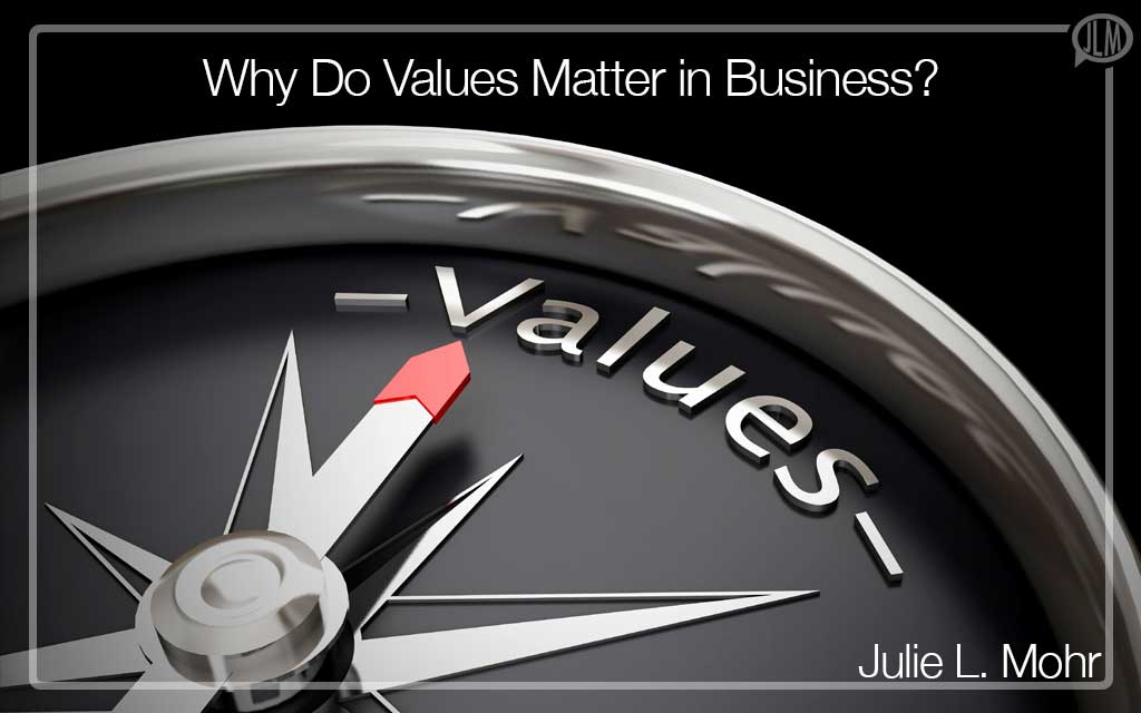 Why Do Values Matter in Business?
