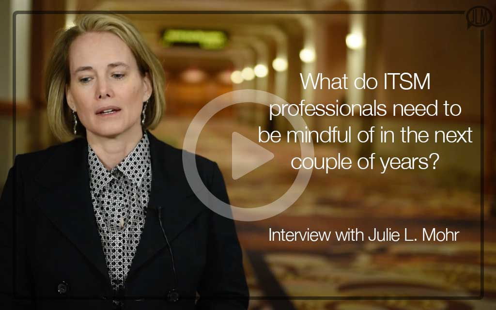 Interview about the Future for ITSM Professionals