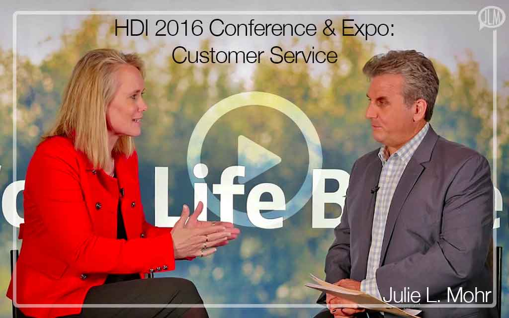 HDI 2016 Conference & Expo: Customer Service and ITSM