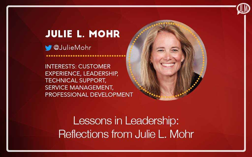 Lessons in Leadership: Interview with Julie L. Mohr